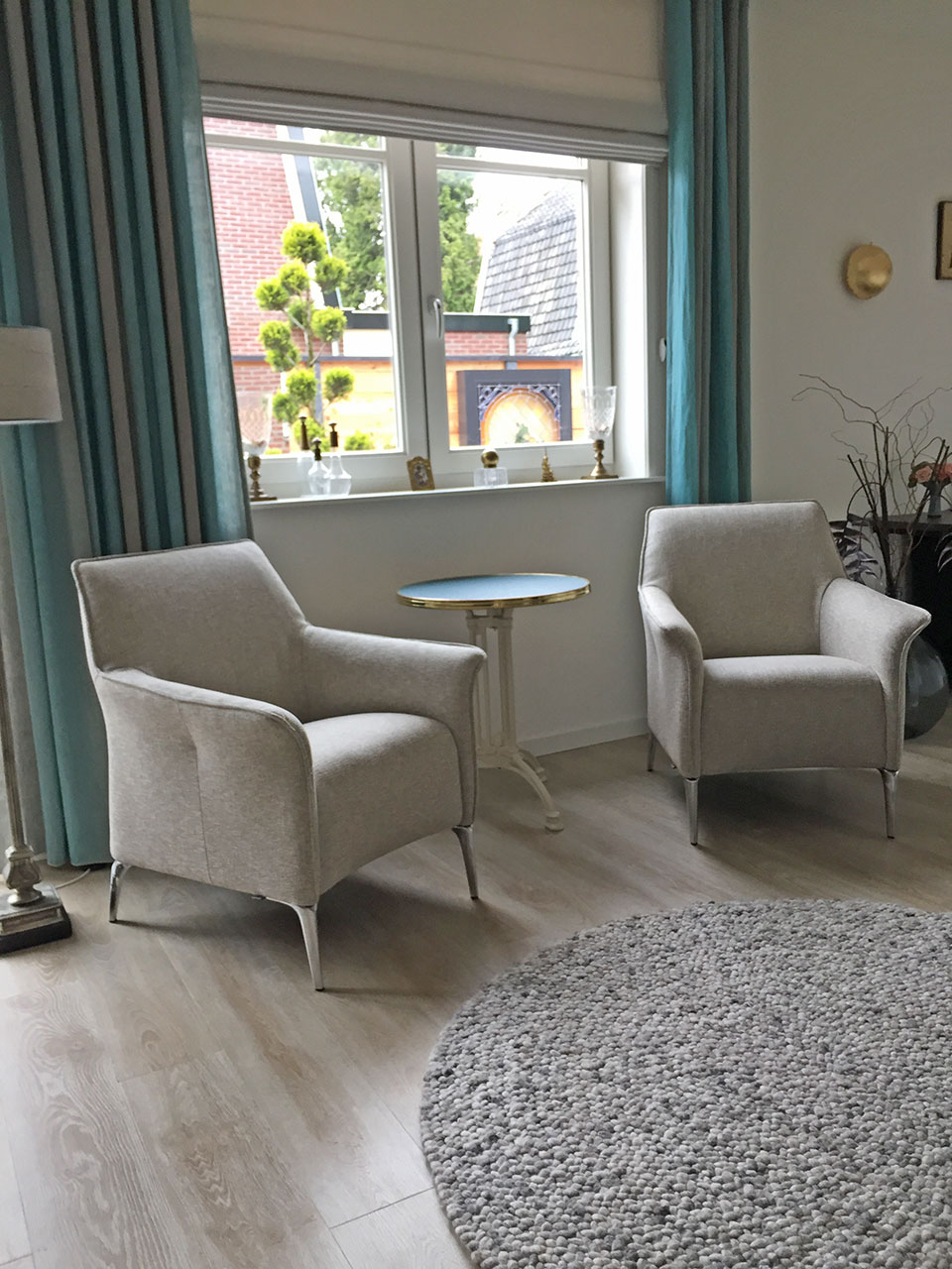 Interieur Baarn Leolux Mayuro fauteuils