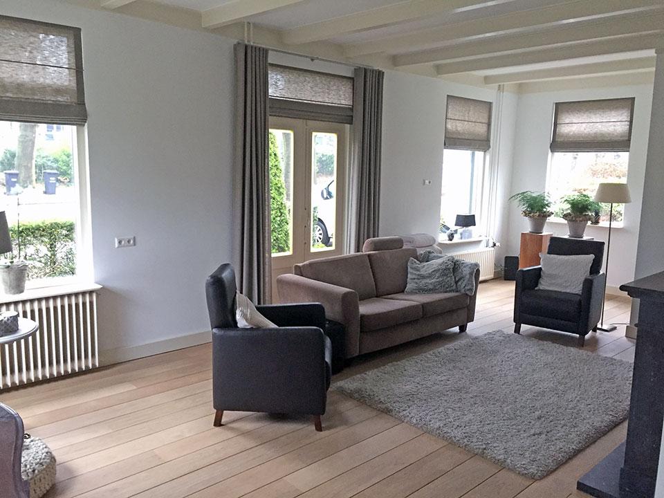 Interieur Baarn - Sunway Roman Shades