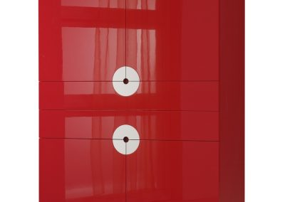 Castelijn Disk rood hoogglans