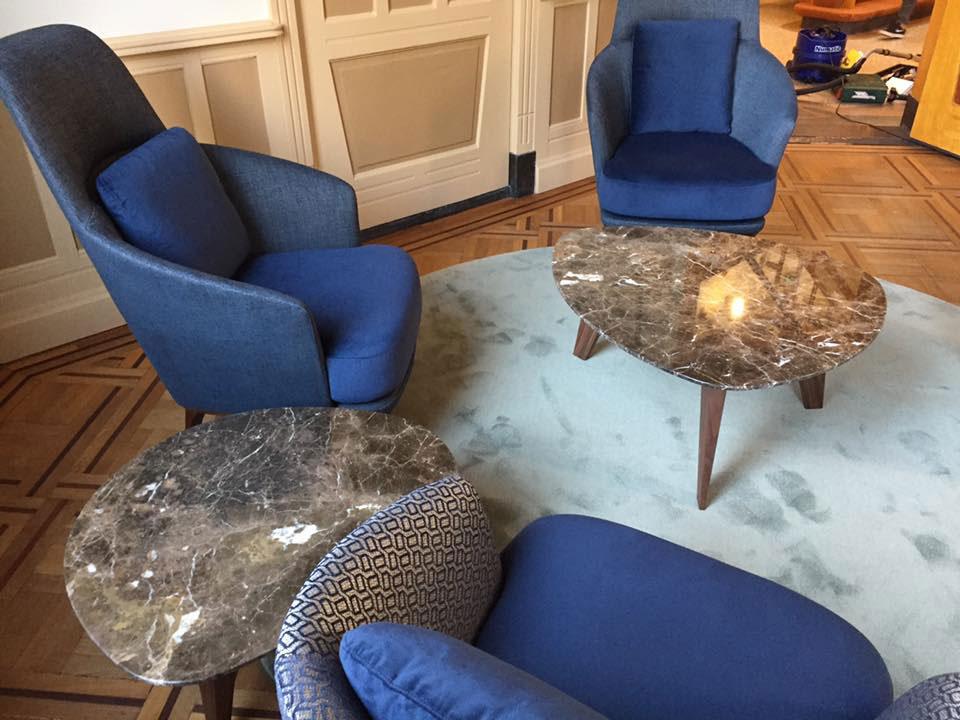 Interieur Baarn Burgemeester Kamer - Bielefelder fauteuils