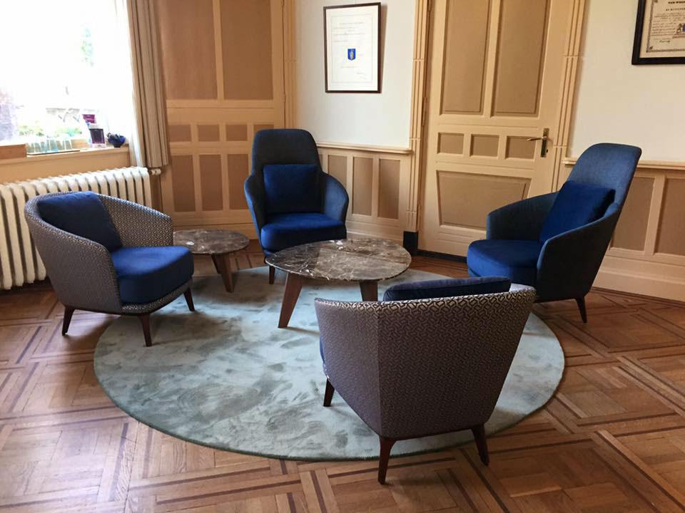 Interieur Baarn Burgemeester kamer Carpet Van Besouw