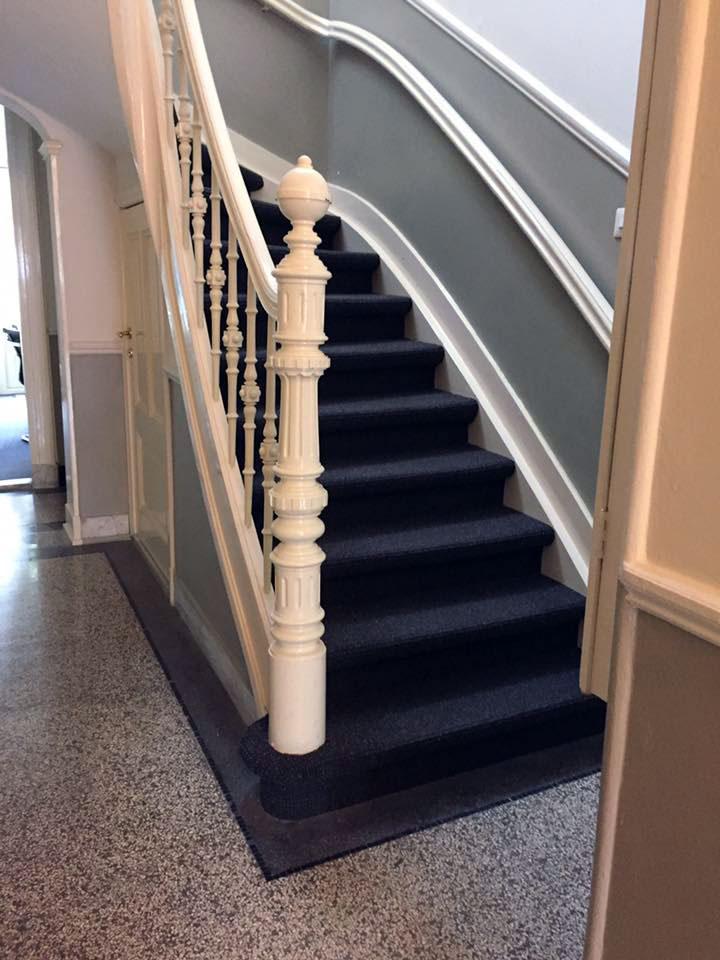 Interieur Baarn tapijt op trap