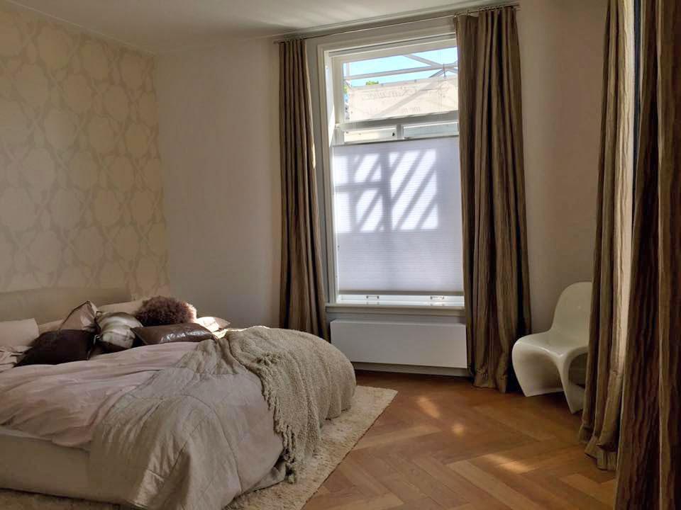 Interieur Baarn - Slaapkamer met Duette Top Down van Sunway