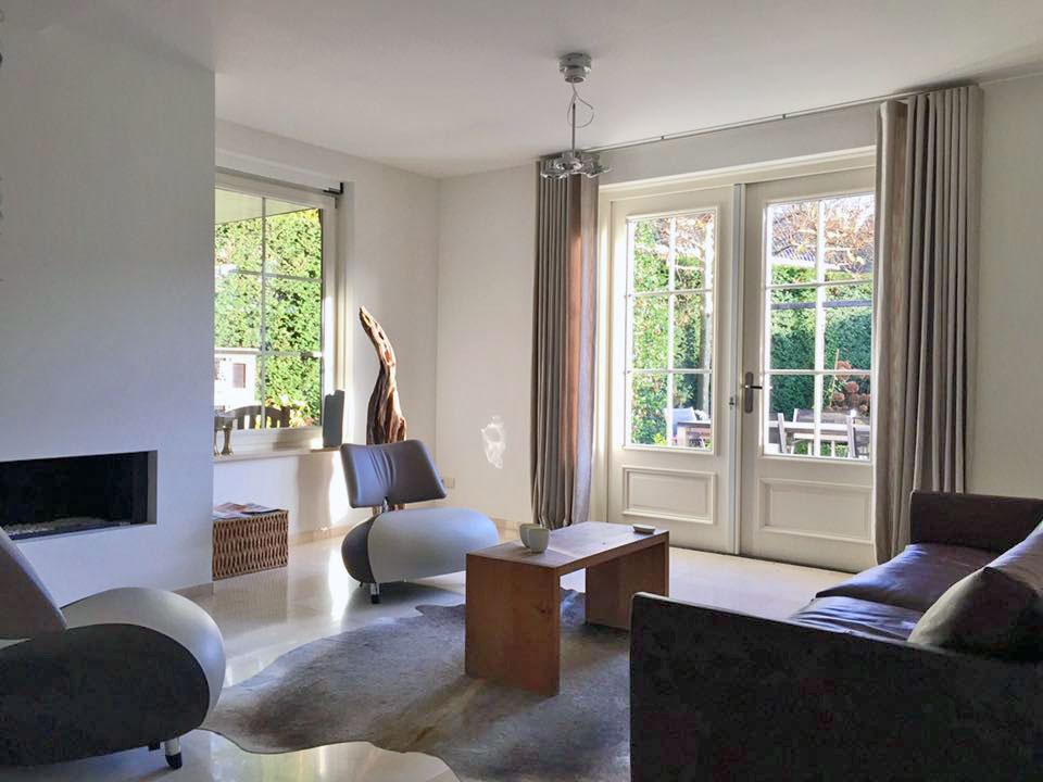Interieur Baarn woonkamer - Leolux Pallone fauteuils
