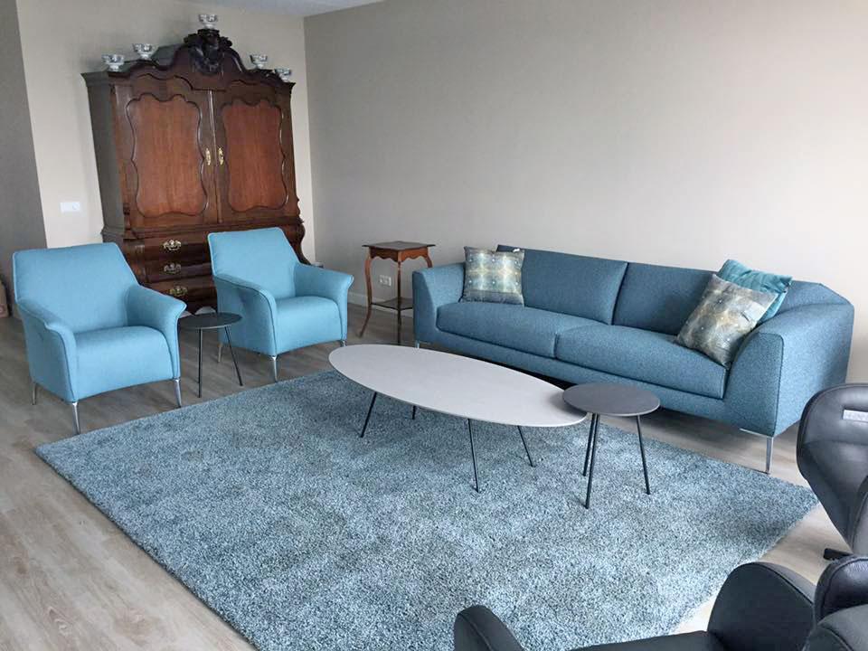 Project Bunschoten Spakenburg Leolux fauteuils