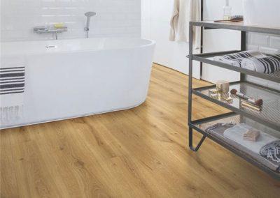 Laminaat vloer badkamer